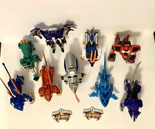 Lot of 9 Power Rangers Jungle Fury w/ Instructions