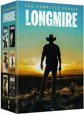 Longmire Complete Series Collection Seasons 1-6 ( Dvd, 2018, 15-Disc box Set)