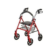 Sit-or-Stand Behind Rolling Walker lightweight foldable