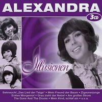 "ALEXANDRA ""ILLUSIONEN"" 3 CD BOX NEUWARE"