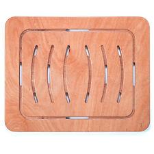 Pedana doccia antiscivolo per piatto in legno marino okumè 78x52 design sottile