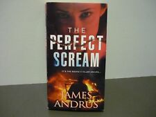 JAMES ANDRUS THRILLER - THE PERFECT SCREAM - READ ONCE - COMBINE POSTAGE & SAVE