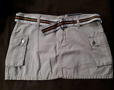 Bongo Womans Mini Skirt Khaki Size 5