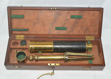 Presentation telescope with tripod and case – Dallmeyer, London.