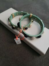 New with tag India Hicks limited edition bracelet stacks studded size s/m