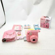 Fujifilm Instax Mini 9 Instant Kids Camera Flamingo Pink -Read!-