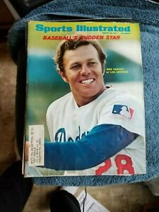 3/22/71 SPORTS ILLUSTRATED WITH WES PARKER LOS ANGELES DODGERS    GROBEE1957