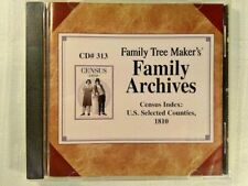 Family Tree Maker Archives Census Index: U.S. Selected Counties 1810 Pc Cd #313