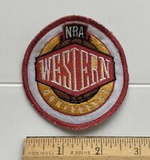 NBA National Basketball Association Western Conference Embroidered Patch Badge