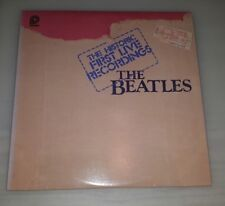 The Beatles - The Historic First Live Recordings 2LP Vinyl Pickwick PT-2098 1980