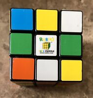 Vintage Official Rubik's Cube 3x3 Original Brain Teaser Puzzle from Rubicks