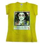 VIOLETTA t-shirt jaune coton taille 10 ans de fille