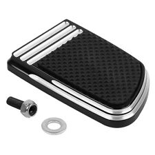 CNC Small Brake Pedal Pad For Harley Touring Road King Glide Softail Slim Deluxe
