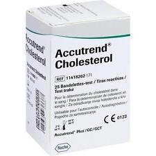 ACCUTREND Cholesterol Teststreifen 25St Teststreifen PZN 4653182