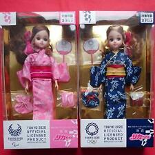 Takara Tomy Licca Yukata Doll Tokyo 2020 Paralympic Emblem 134268