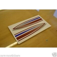 BAILEY Pageant - (SERIES 5) - Caravan Wraparound Sticker Decal Graphic - PAIR