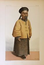 Original Vanity Fair Prints  1896 Of 'Li' Li Hung Chang - Orientals