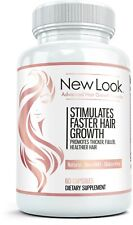 NEW LOOK Clinical Strength Hair Skin & Nails Vitamin Beauty Skin Care Supplement