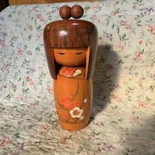 Japanese Old Sosaku Kokeshi Doll Kimono Girl Handmade Kawaii Made in Japan
