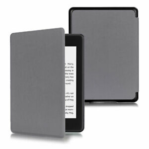 For Amazon Kindle Paperwhite 10th Generation 2018 Slim Leather Shell Smart Case