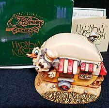 Harmony Kingdom Disney Mickey's Trailer Mickey & Donald Camping Le 500 Rare
