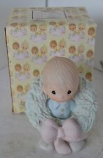 Precious Moments Porcelain Figure 1983 Surrounded With Joy With Box