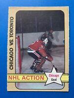 TONY ESPOSITO 1972-73 O-Pee-Chee #196 Chicago Black Hawks NHL Action
