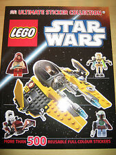 LEGO Star Wars Ultimate Sticker Collection 500+ full colour reusable NEW UNUSED