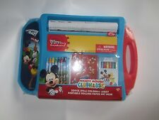 Disney Junior Mickey Mouse Clubhouse Portable Rolling Paper Art Desk
