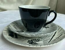 Trio of  tea cup, saucer and plate in Ridgway Homemaker pattern