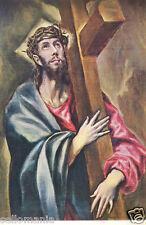 POSTAL DE EL GRECO . CRISTO ABRAZADO A LA CRUZ . MIRA MAS EN MI TIENDA TP11599