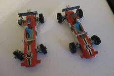 TWO VINTAGE CORGI  LOTUS CLIMAX FORMULA 1  RACE CARS #8