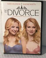 Le Divorce DVD