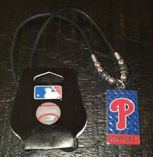 MLB LICENSED BASEBALL PHILADELPHIA PHILLIES NECKLACE NEW WITH TAGS AUTHENTIC