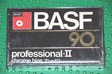 BASF  PROFESSIONAL  II   90    BLANK CASSETTE TAPE (SEALED)