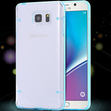 Clear transparent light in the dark bright case for Samsung Galaxy Note 5 N920K