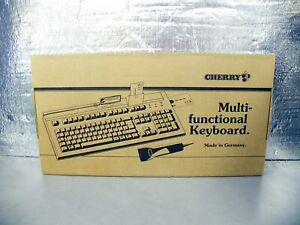 Cherry Commercial POS Magnetic Stripe Reader G81-8016LQNUS Wired Keyboard Sn 604
