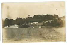 RPPC Floating Theatre SHOWBOAT Steamer Steamboat Ohio River Real Photo Postcard