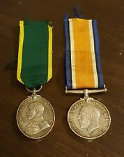 WW1 Medals 1914 Territorial Force Efficiency Medal