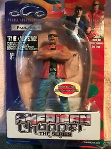 "2005 Orange County Choppers 7"" Paul Sr. Action Figure Talks American Chopper"