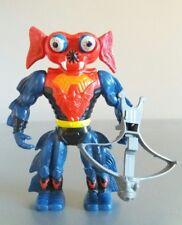 Molto RARO HE-MAN/SHE-RA MANTENNA Figura 1984 (Rosso E Blu Occhi Versione)
