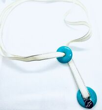 TURQUOISE ADJUSTABLE NECKLACE