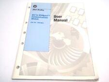 Allen Bradley Slc to Scanport Communications Module 1203-Sm1 User Manual