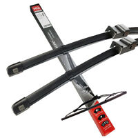 Front /& Rear kit of Aero Flat Windscreen Wipers Wiper Blades ADR62-621|HQ14A