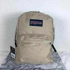 JanSport Superbreak Backpacks Field Tan 100% AUTHENTIC School Bags Bag Backpack