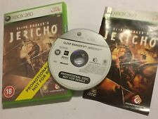 XBOX 360 FULL PROMOTIONAL PROMO COPY GAME CLIVE BARKER'S JERICHO COMPLETE PAL
