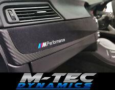 BMW F10 F11 M5 Custom Performance Black Alcantara Carbon Interior Trim Dash Set