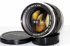 CANON 58MM F/1.2 FL very fast PRIME LENS MANUAL FOCUS   **BEST FOR PORTRAIT""""