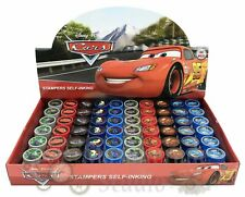 Disney Cars Self Inking Stamps for Kids Goodies Party Favor 60pc Stampers