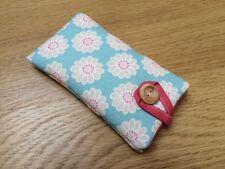 Clarke and Clarke Daisy Aqua - iPod Nano 7th / 8th Generation Fabric Padded Case